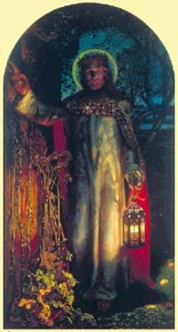 Światłość świata, William Holman Hunt, 1900-1904 r./ National Gallery, London